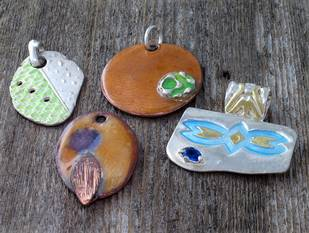 Metal Clay and Enameling