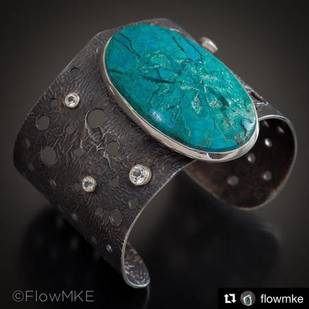 Earthrise Reticulated Cuff with Michael Thee and Mary Wohlgemuth