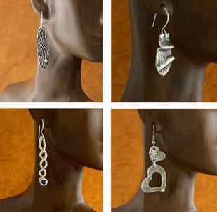 Metal Clay 1 - The Basics- Earrings (online)