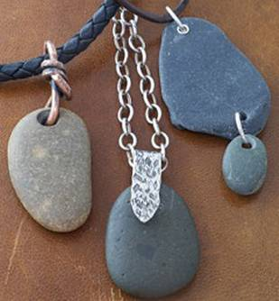Drilling Rocks and Sea Glass