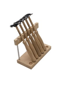Wubbers Artisan's Mark 5 pc Hammer Set w/ Stand Photo