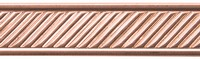 Copper Pattern Wire - Slant w/ Border Photo